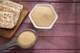 Amaranth cereal and energy bars - 189094392
