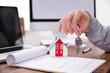 canvas print picture - Immobilie, Haus und Wohnung