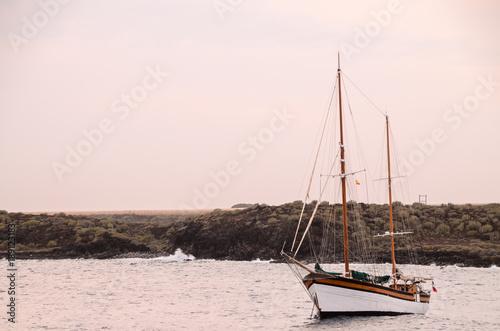 Poster Schip Vintage Sail Boat