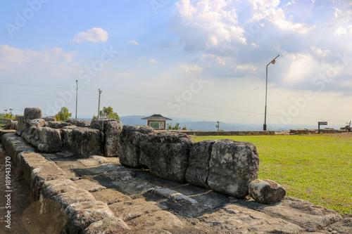 Foto op Plexiglas Bedehuis Candi Ijo, Natural Tour, Green Temple Indonesia Travel