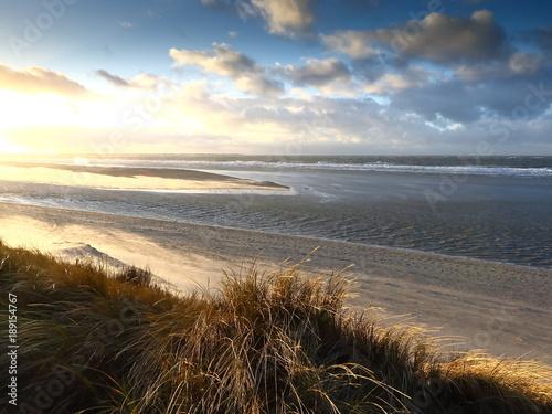 Staande foto Noordzee Küstenlandschaft Nordsee, Nordfriesische Inseln