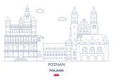 Poznan City Skyline, Poland