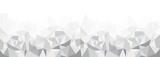 Fototapety Geometrisches Muster, Hintergrundgrafik, grau, Panorama