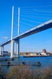 Die Rügenbrücke bei Stralsund