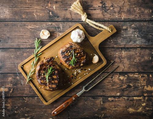 Papiers peints Steakhouse Grilled marbled meat steak