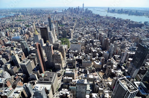 Foto op Aluminium New York view from above
