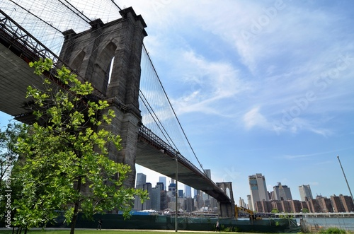 Fotobehang Brooklyn Bridge brooklin