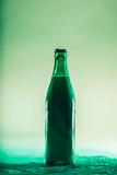 Green beer bottle. St. Patrick's Day - 189210913