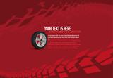Automotive Tire Background  - 189260105