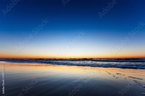 Fotobehang Strand The Sea after Sundown