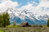 Moran Barn and Grand Tetons