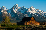 Grand Tetons and Moran Barn - 189272355