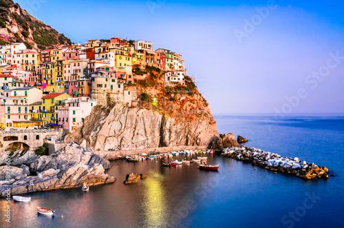 Papiers peints Ligurie Manarola, Cinque Terre, Italy