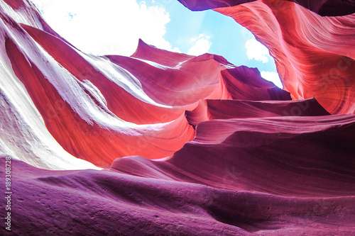 Keuken foto achterwand Arizona Antelope canyon, Arizona