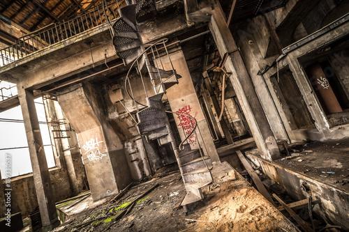 Plexiglas Oude verlaten gebouwen Zeche - Lost Place