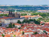 Prague Castle, St Vitus Cathedral in the old town of Prague, Czech Republic. - 189331342