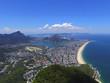 Quadro Aerial view of Ipanema beach