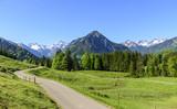 Ausblick in die Berge des Oberallgäus  - 189444920