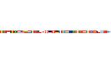 nastro, bandiere, europa, lingue - 189464160