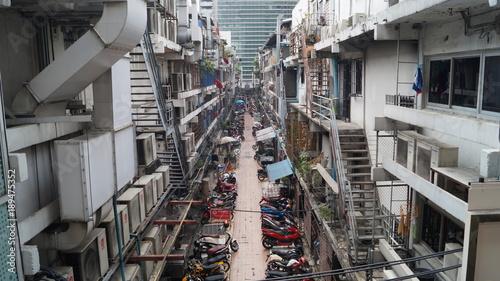 Foto op Aluminium Bangkok Brouhaha de Bangkok