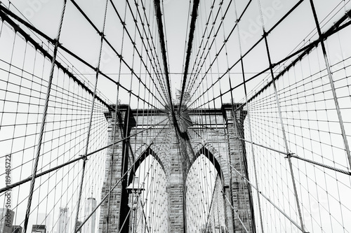 Foto op Aluminium New York Brooklyn Bridge New York City