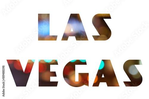 Deurstickers Las Vegas Las Vegas