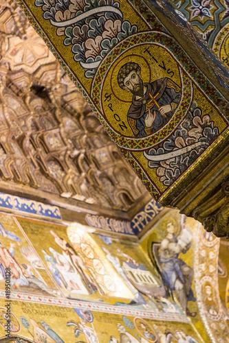 Foto op Plexiglas Palermo La Cappella Palatina a Palermo