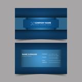 Business Card Design Template. - 189511572