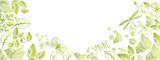 Spring doodles background - 189523183
