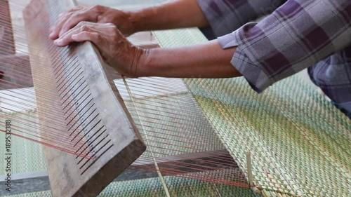 handmade rattan mat in agriculture rural life 00