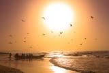 coucher de soleil à Kayar