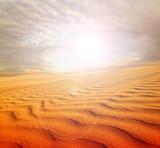 Sunset over the Sahara Desert - 189552366