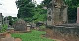 Kandy British Garrison Cemetery in Sri Lanka. Ceylon ancient colonial landmark - 189559105