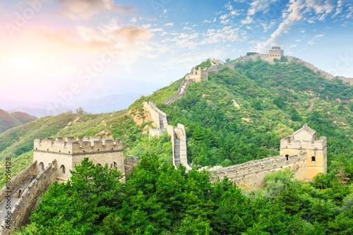 krajobraz-natury,-wielki-mur-chinski