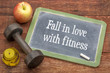 fall in love with fitness