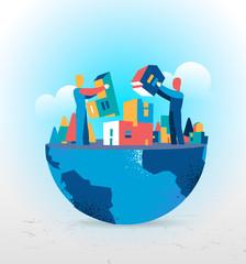 Costruire un mondo su misura per il futuro