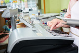 Working at cash desk - 189623340