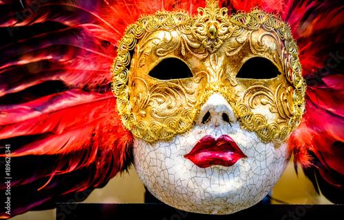 Foto op Plexiglas Venetie carnival mask
