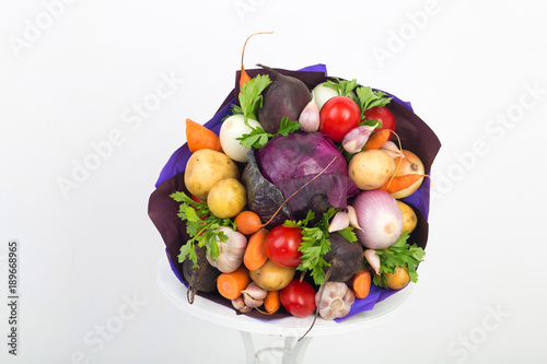 Bouquet of vegetables © olgaosa