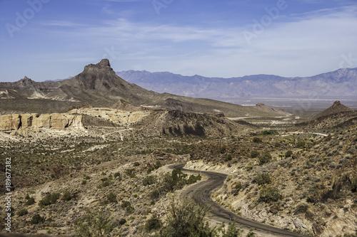 Aluminium Arizona Arizona landscape in summer