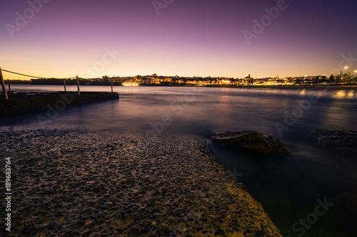 Fotobehang Sydney Bondi Beach Tramonto