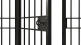 Metal jail bars - 189705759