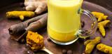 Healthy golden milk - 189717742