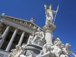 Leinwandbild Motiv austria, vienna, parliament