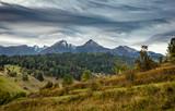 Havran and Zdiarska Vidla in Tatra mountains at autumn, Slovakia