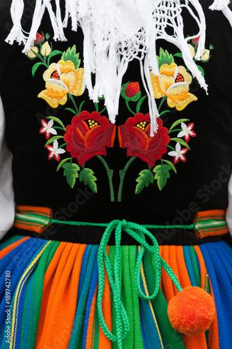 Krakow folk costume © BarbaraKrupa
