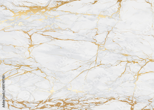 Gold marble Luxury background texture design for wedding invitation card, cover, packaging , fashion vector template - 189749780