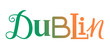 DUBLIN custom letters icon - 189753503