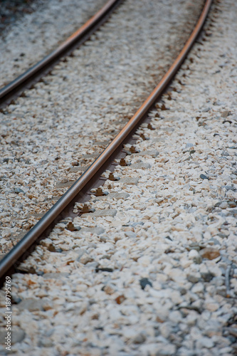 Papiers peints Voies ferrées railroad