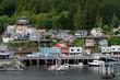 View of Water Street, Ketchikan, Alaska